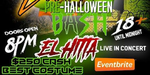 College costume pre-Halloween bash