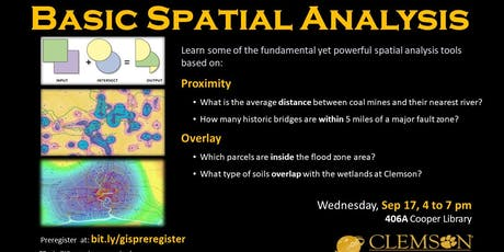Basic Spatial Analysis (in ArcGIS Pro)  tickets