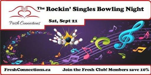 The Rockin' Singles Bowling Night