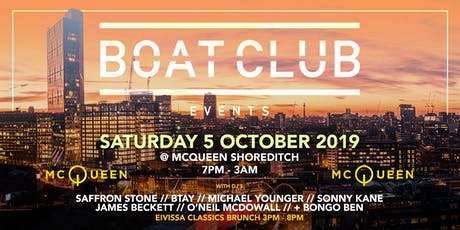 Boat Club @ McQueen tickets