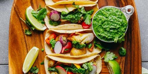 UBS Cooking School: Fall Veggie Tacos