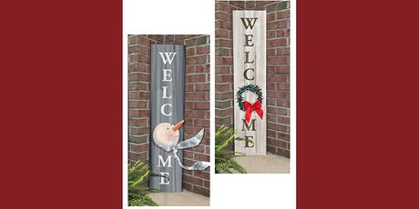 Your Choice Welcome Sign - Creative Paint & Sip Maker Class  tickets