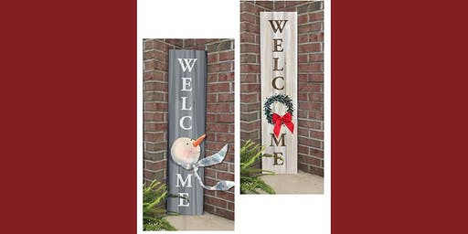 Your Choice Welcome Sign - Creative Paint & Sip Maker Class