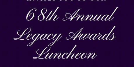 68th Legacy Awards Luncheon tickets