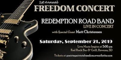 1st Annual FREEDOM CONCERT & PATRIOT POKER RUN Honoring Veterans