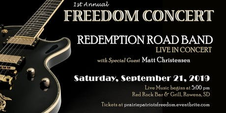 1st Annual FREEDOM CONCERT & PATRIOT POKER RUN Honoring Veterans tickets