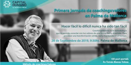 Primera Jornada de coachingxValores en Palma de Mallorca tickets