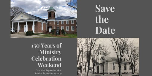 150th Anniversary - Saturday Dinner & Presentation