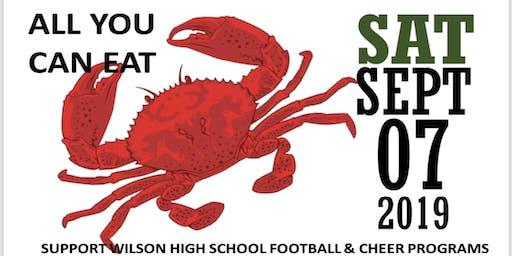 WOODROW WILSON HS FOOTBALL & CHEER TEAMS ALL YOU CAN EAT CRAB FEAST