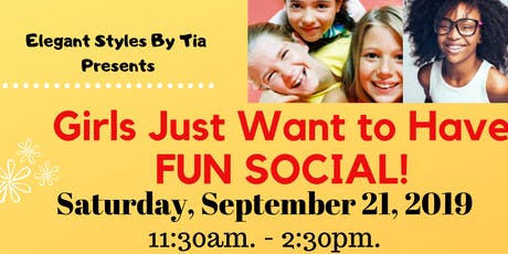 Girls just want to have fun social! tickets