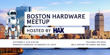 Boston Hardware Meetup tickets