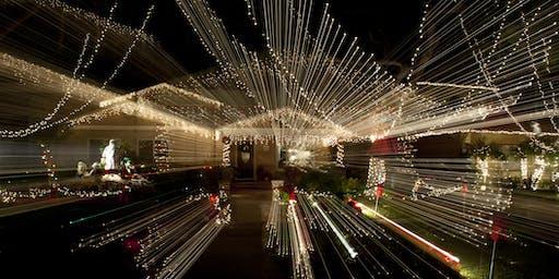 Christmas Lights Night Photo Walk