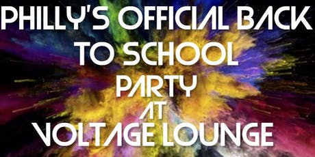 PHILLY'S OFFICIAL BACK TO SCHOOL PARTY tickets