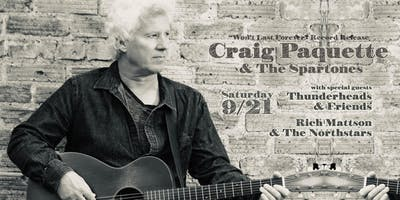 """Craig Paquette & The Spartones - """"Won't Last Forever"""" Record Release Show"""
