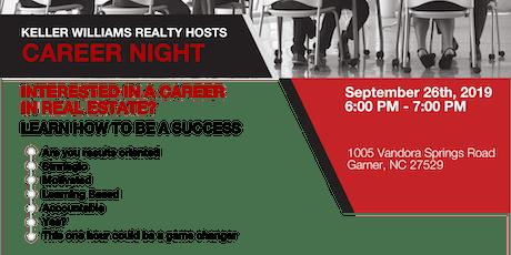 Career Night - Sept. 26th tickets