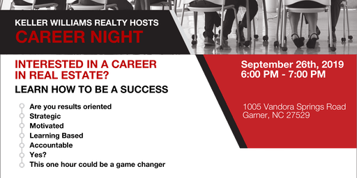 Career Night - Sept. 26th