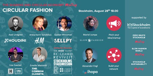Circular Fashion Panel discussion and networking event - Free to join