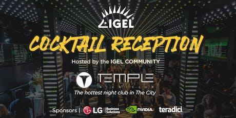 IGEL Community Cocktail Reception at VMworld tickets
