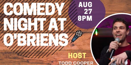 Odd Comedy Tuesday's @ Obrien's tickets