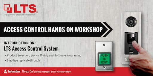 Access Control Hands-on Workshop - LTS NY Office