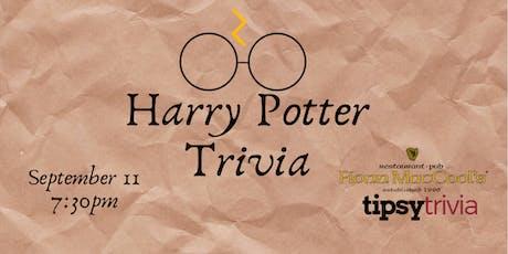Harry Potter Movie Trivia - Sept 11, 7:30pm - Fionn MacCool's tickets