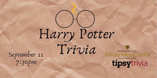 Harry Potter Movie Trivia - Sept 11, 7:30pm - Fionn MacCool's