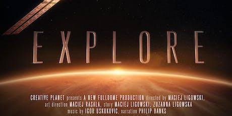 Explore tickets