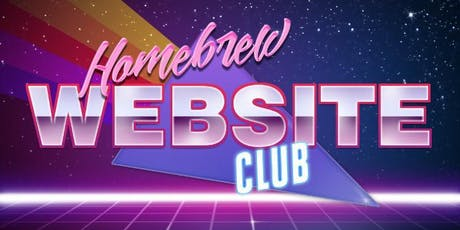 Homebrew Website Club Barnsley #3 tickets