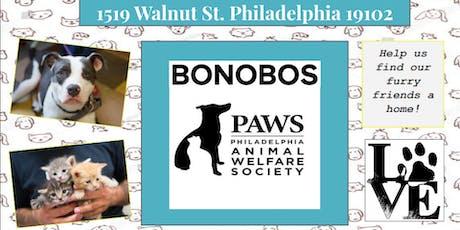 Bonobos PAWS for Adoption Event tickets