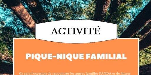Pique-nique familial pour les membres PANDA