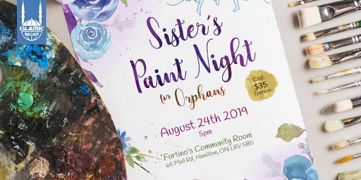 Sisters' Paint Night