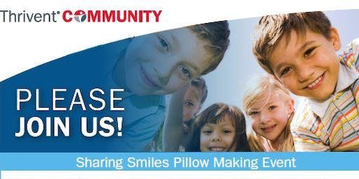 Sharing Smiles Pillow Making Event