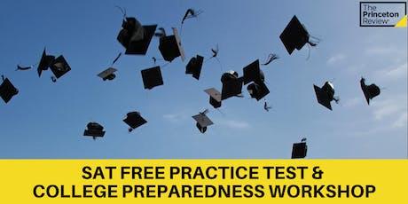 Princeton Review SAT Practice Test & Shiloh College Preparedness Workshop tickets
