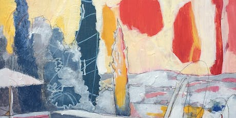 ABSTRACT LANDSCAPES   Acrylic painting workshop tickets