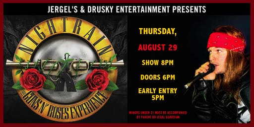 Nightrain - Guns N Roses Tribute Experience