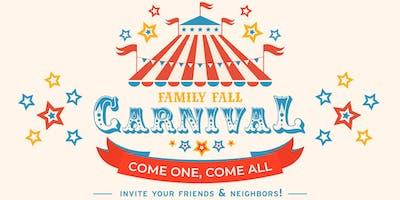 Family Fall Carnival