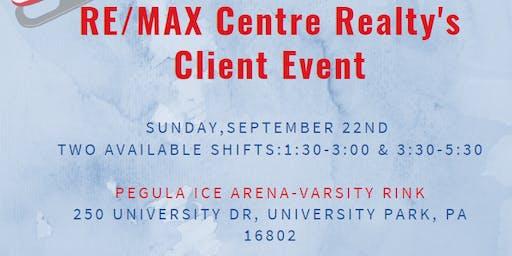 Open Skate Pegula Client Event