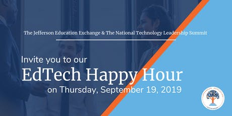 The Jefferson Education Exchange + NTLS EdTech Happy Hour Sept 19 tickets