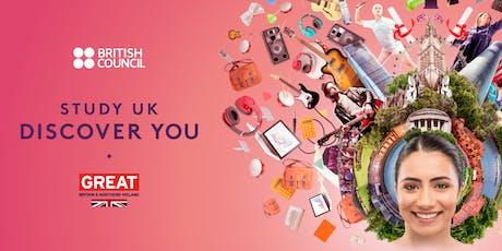 NACAC 2019: Study UK Reception tickets