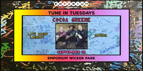 Tune in Tuesdays - Cocoa Greene, Late Nite Laundry, Mating tickets