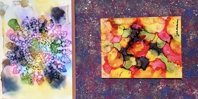 Alcohol Ink with Carla