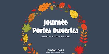 Journée PORTES OUVERTES de l'automne 2019 au Studio Bizz tickets