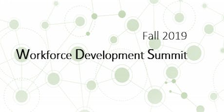 Fall 2019 Workforce Development Summit tickets
