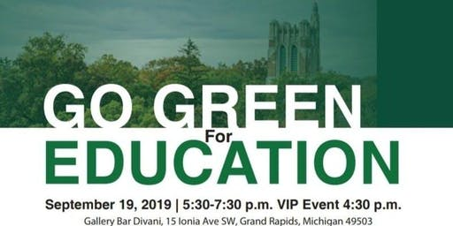 GO GREEN For Education