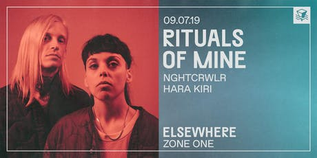 Rituals of Mine @ Elsewhere (Zone One) tickets