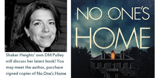 DM PULLEY NO ONE'S HOME BOOK LAUNCH, TALK & TOUR