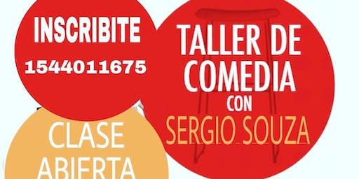 02/9 Taller de Comedia. Clase Gratuita