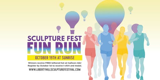 Liberty Hill Sculpture Fest Fun Run