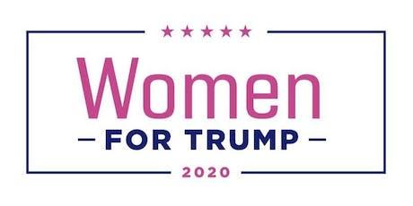 Women for Trump TVLI Voter Registration Training tickets