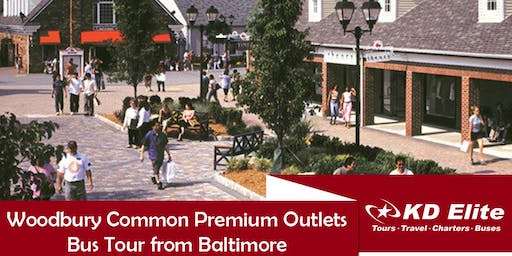 SHOPPING TOUR! Woodbury Common Premium Outlets Bus Tour from Baltimore